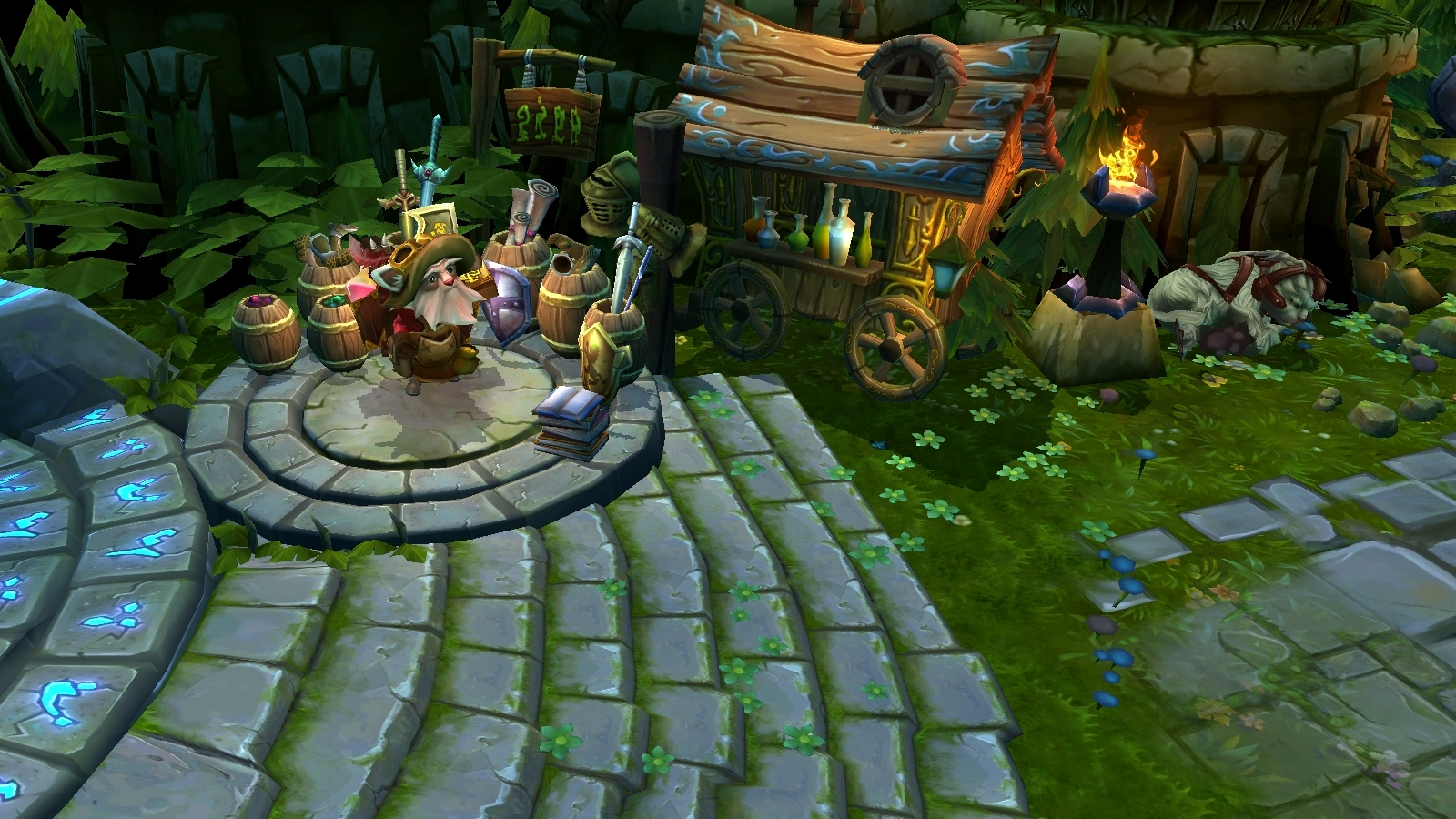 Summoners rift 1.1, click for larger version